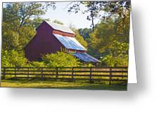 Morning Barn Greeting Card