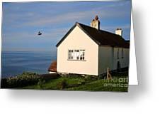 Morning Cottage At Lyme Regis Greeting Card