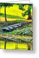 Morning Fishing Greeting Card