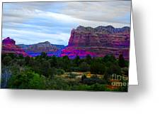 Glorious Morning In Sedona Greeting Card