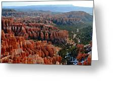 Morning In Bryce Canyon Greeting Card