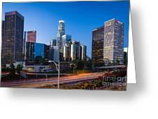 Morning In Los Angeles Greeting Card by Inge Johnsson