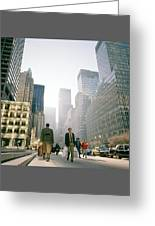 Morning In Manhattan Greeting Card