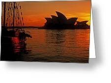 Morning In Sydney Harbour Greeting Card