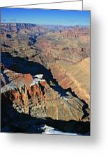 Morning In The Canyon Greeting Card