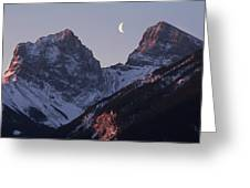 Morning Light Canmore Greeting Card