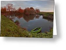 Morning Light Lenton Fishing Pond Greeting Card