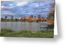 Morning Light Upon Downtown Little Rock - Arkansas - Skyline Greeting Card