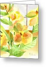 Morning Magnolias Greeting Card
