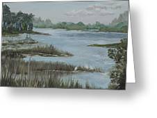 Morning Marsh At Babcock Ranch Greeting Card