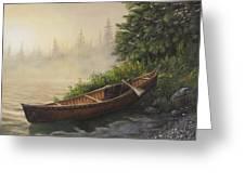 Morning Mist Greeting Card by Kim Lockman