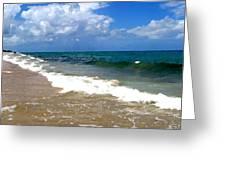 Morning On Boynton Beach 1 Greeting Card by Shawn Lyte