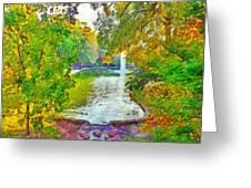 Mirror Lake. The Ohio State University Greeting Card