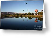 Morning On The Yakima River Greeting Card by Carol Groenen
