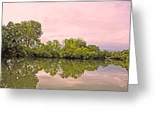 Morning Reflections Greeting Card