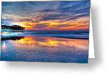 Morning Reflections Greeting Card by Francis Trudeau