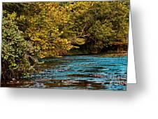 Morning River Greeting Card