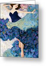 Morning Stretch Greeting Card by Kevin Lawrence Leveque