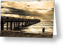 Morning Stroll Greeting Card