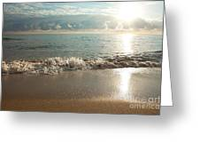 Morning Sunrise In Ft. Lauderdale Greeting Card