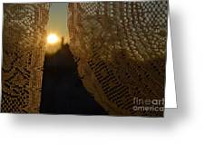 Morning Sunshine Greeting Card