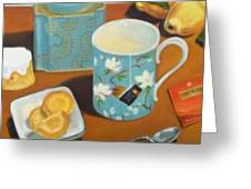 Morning Tea Greeting Card
