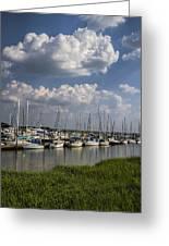 Morningstar Marina Boat Harbor Georgia Greeting Card