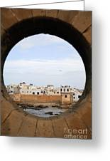 Moroccan View Greeting Card