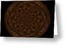 Morphed Art Globe 32 Greeting Card