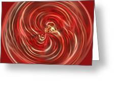 Morphed Art Globe 41 Greeting Card