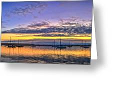 Morro Bay Panorama Greeting Card