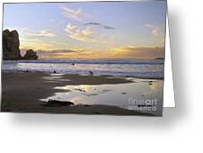 Morro Rock Park Greeting Card