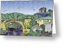 Morstar Bridge Colored Greeting Card