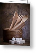 Mortar And Pestle Still Life II Greeting Card