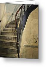 Morton Hotel Stairway Greeting Card
