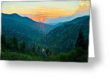 Mortons Overlook Greeting Card