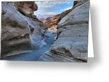 Mosaic Canyon Twilight Greeting Card
