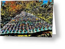 Mosaic Fly Greeting Card