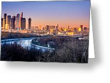 Moscow City Greeting Card