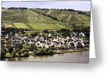 Mosel Wine Village Greeting Card