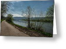 Moselle River Greeting Card