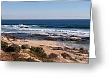 Moses Rock Beach 01 Greeting Card