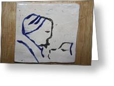 Moses - Tile Greeting Card