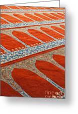 Mosque Carpet Greeting Card
