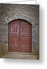 Mosque Doors 11 Greeting Card