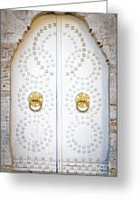 Mosque Doors 14 Greeting Card