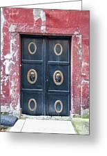 Mosque Doors 15 Greeting Card