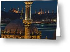 Mosques In Istanbul Greeting Card