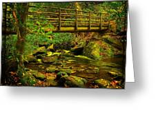 Moss Bridge Greeting Card
