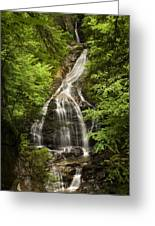 Moss Glen Falls Stowe Vermont Greeting Card